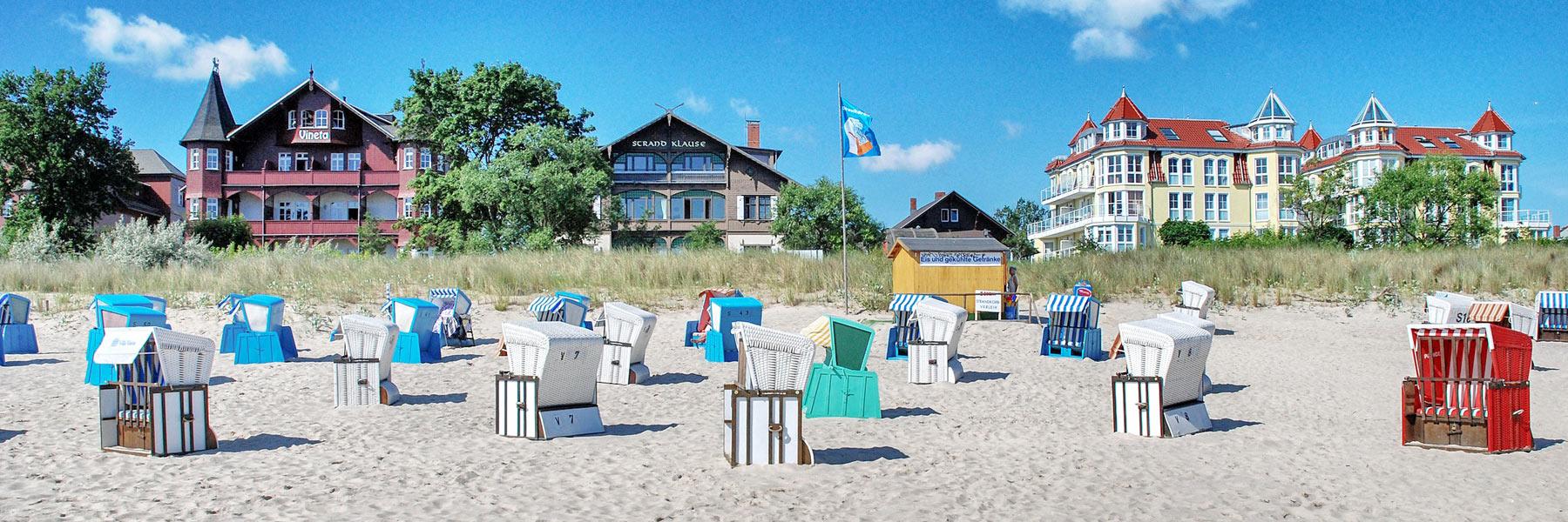 Strandkörbe - Seeheilbad Bansin