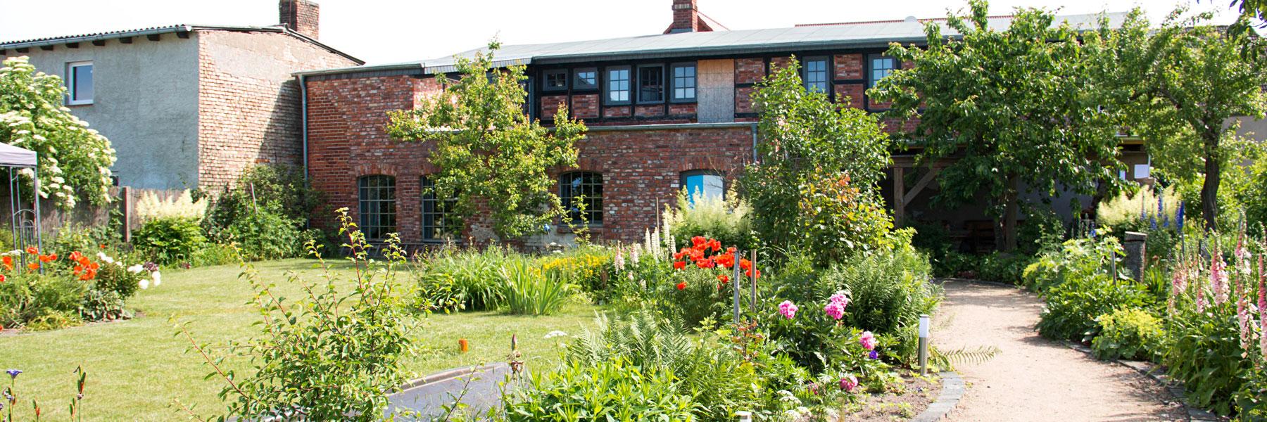 Garten - Pension zur alten Schmiede