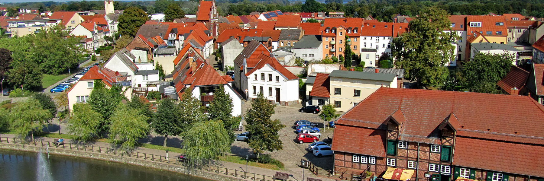 Luftbild - Stadt Teterow