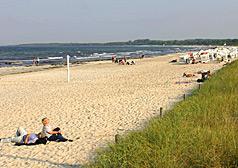 Strand im Ostseebad Boltenhagen
