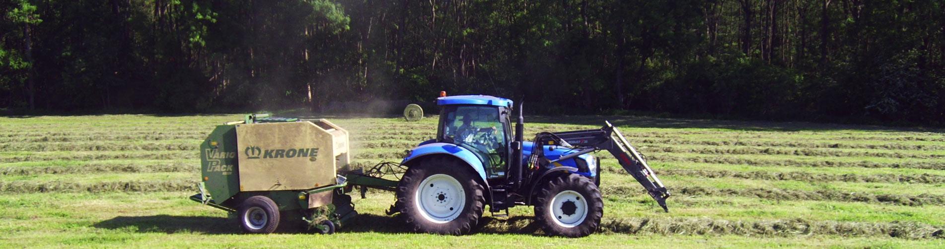 Traktor - Müritz-Hof Knust