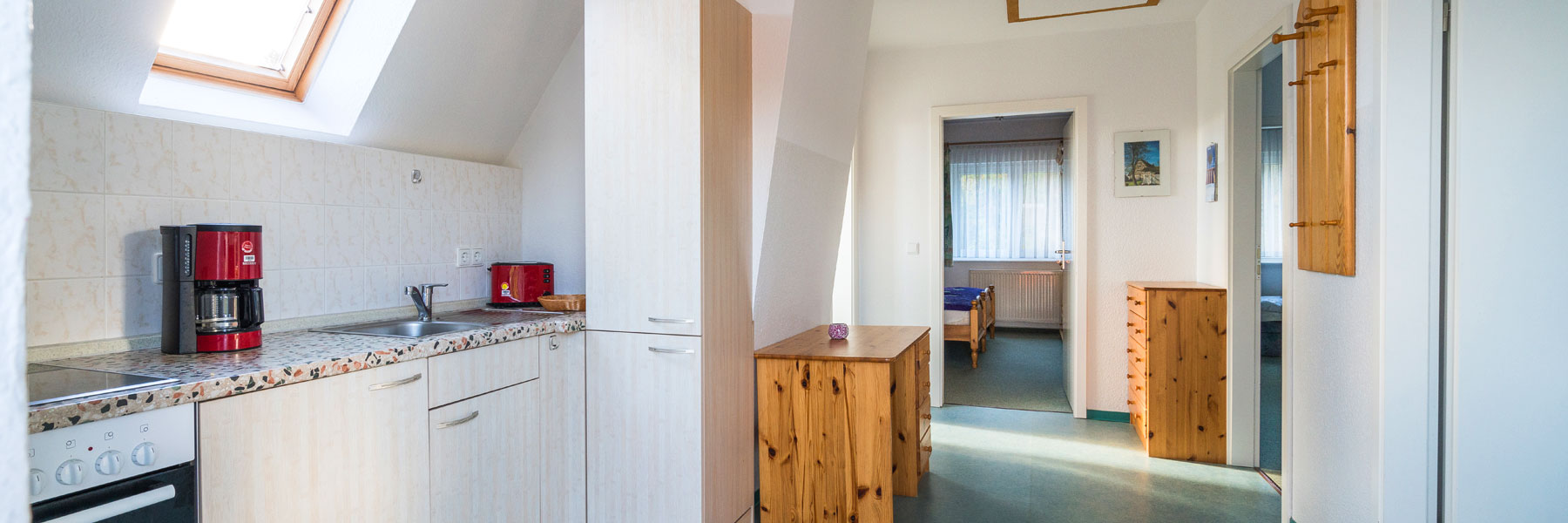 Wohnungsansicht - Ferienwohnungen Waldesruh Dierhagen