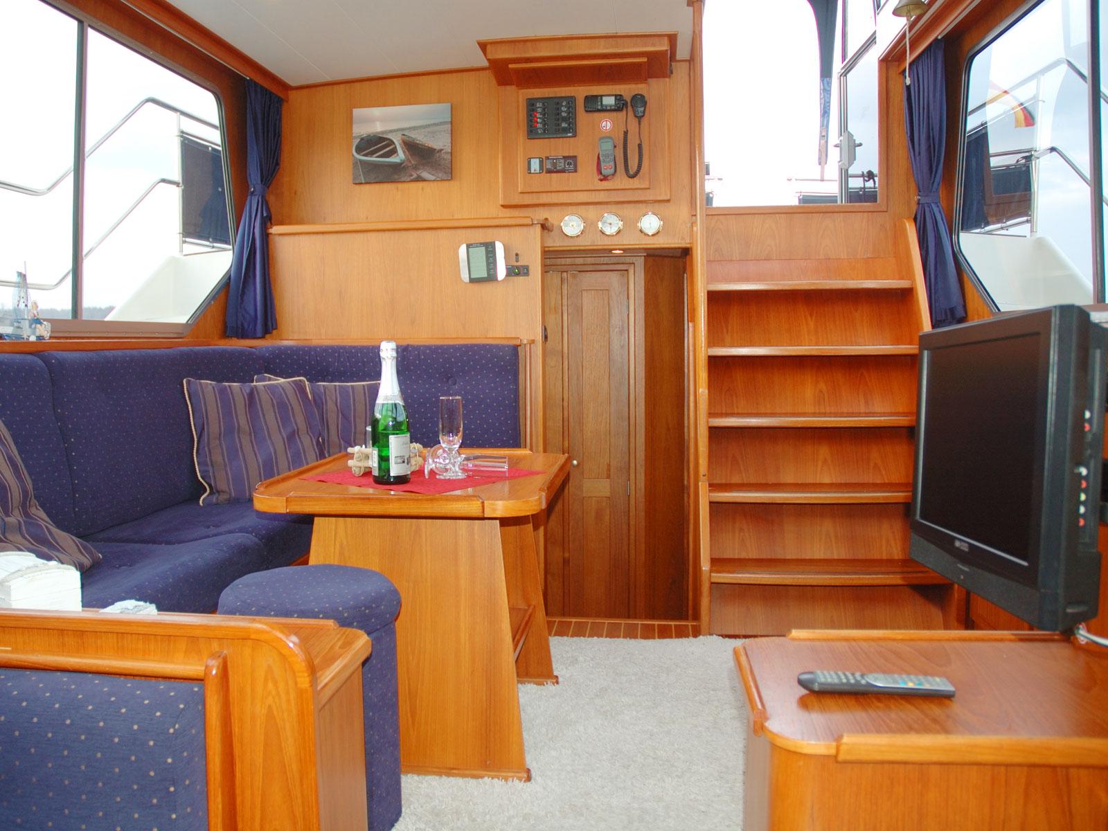 Yacht-Innenraum