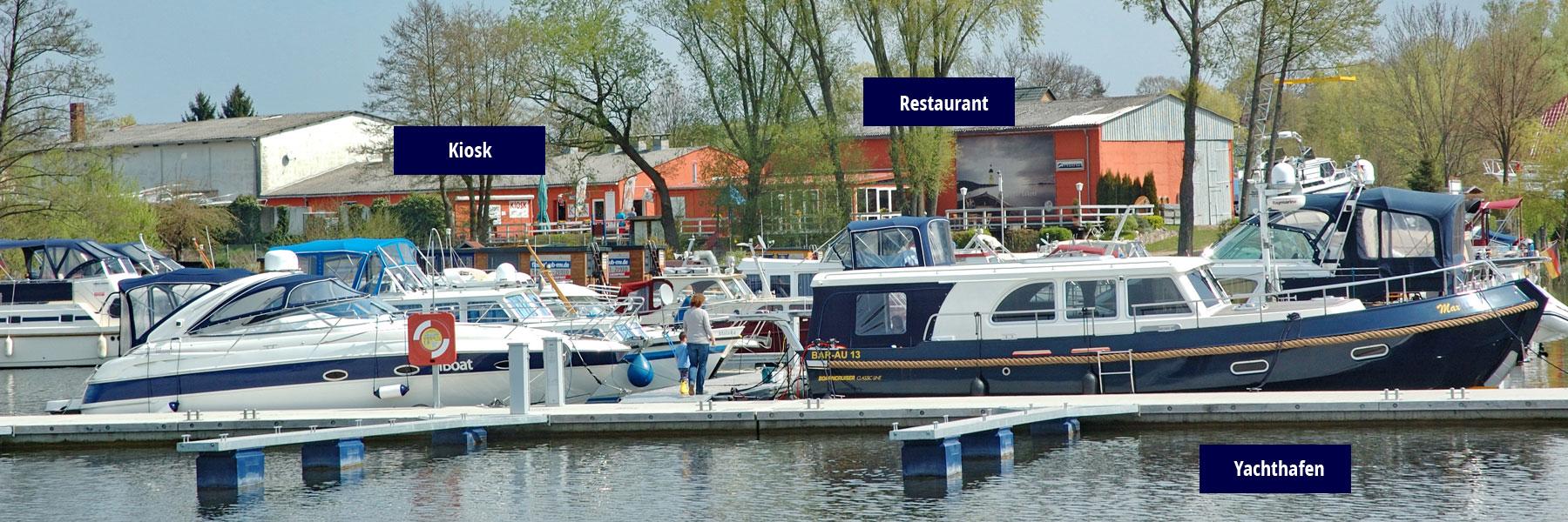Steganlage - Yachthafen Priepert