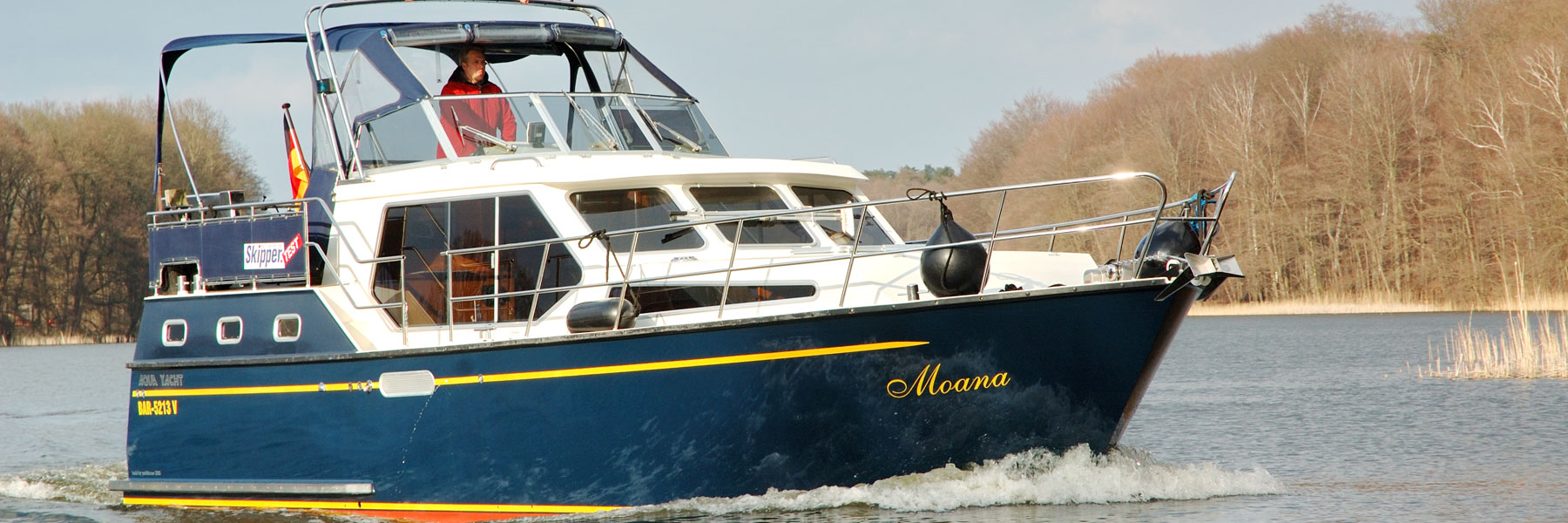 Yacht Moana - Yachthafen Priepert