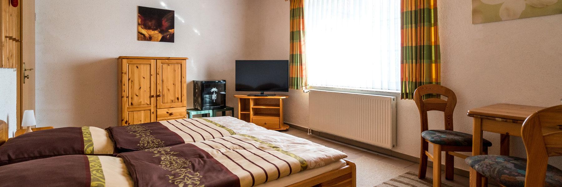 Schlafzimmer - Gasthaus Zur Schleuse