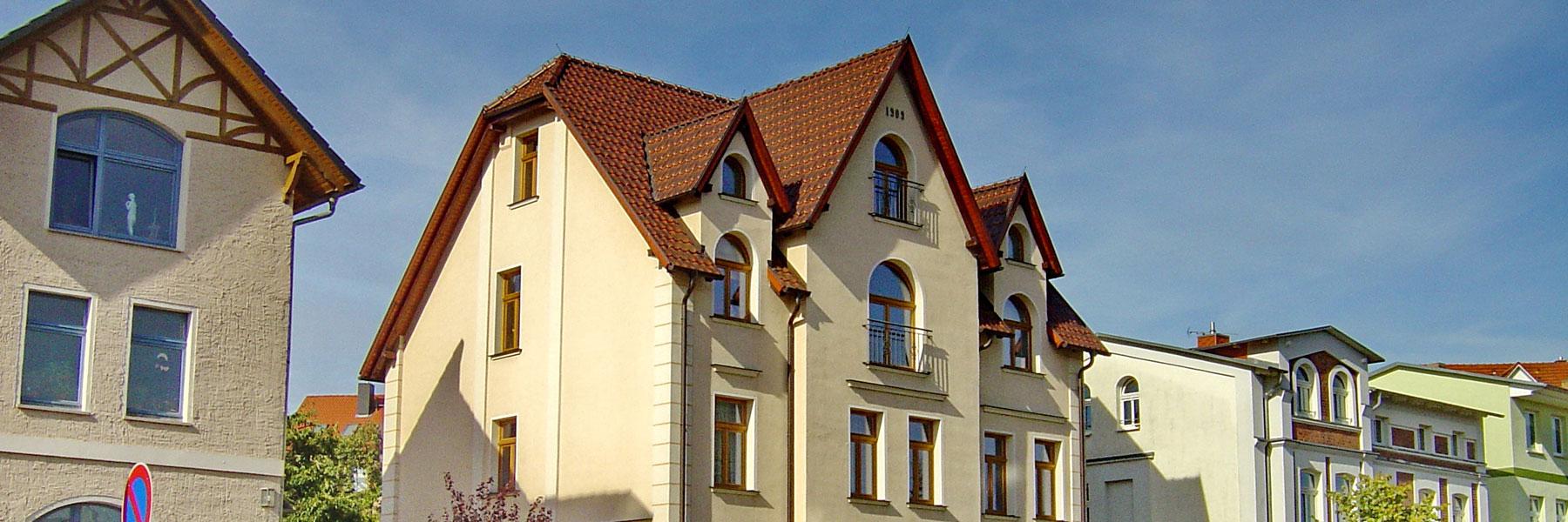 Aussenansicht - Apartmenthaus Waren