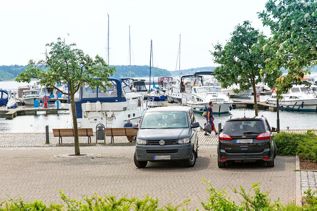 Yachthafen von Waren (Müritz)