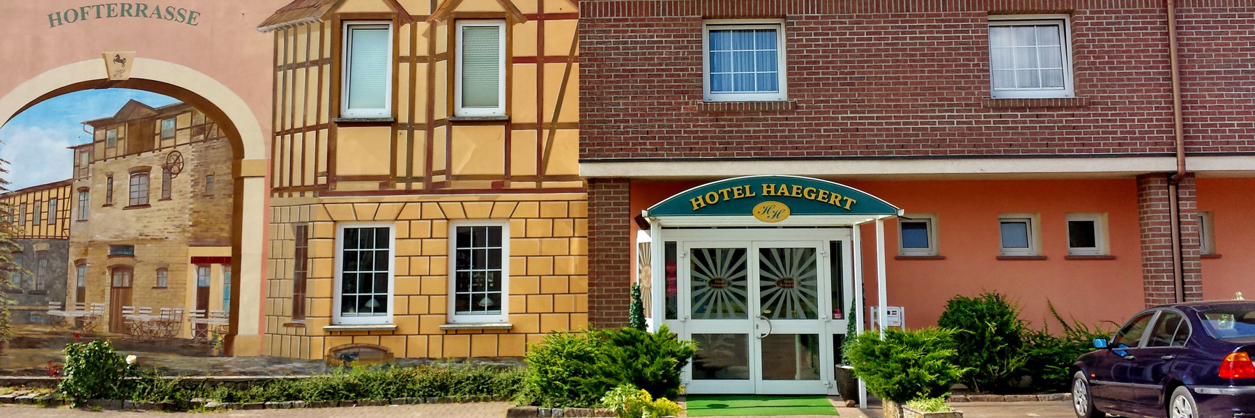 Außenansicht - Hotel Haegert