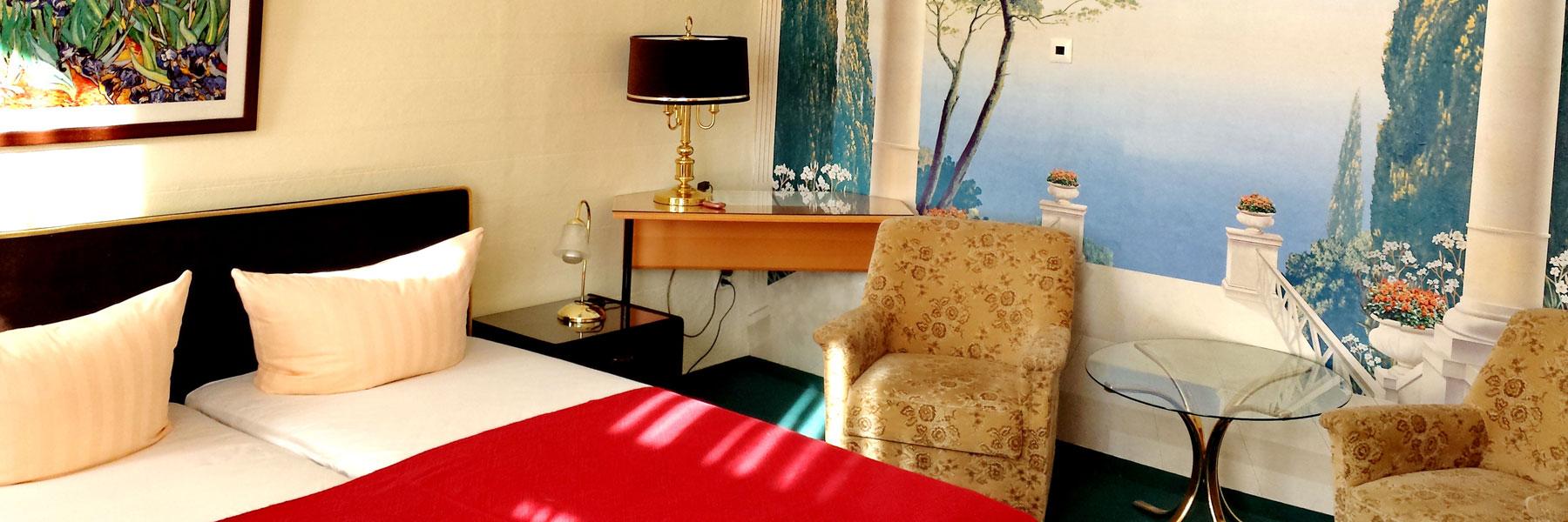 Doppelzimmer - Hotel Haegert