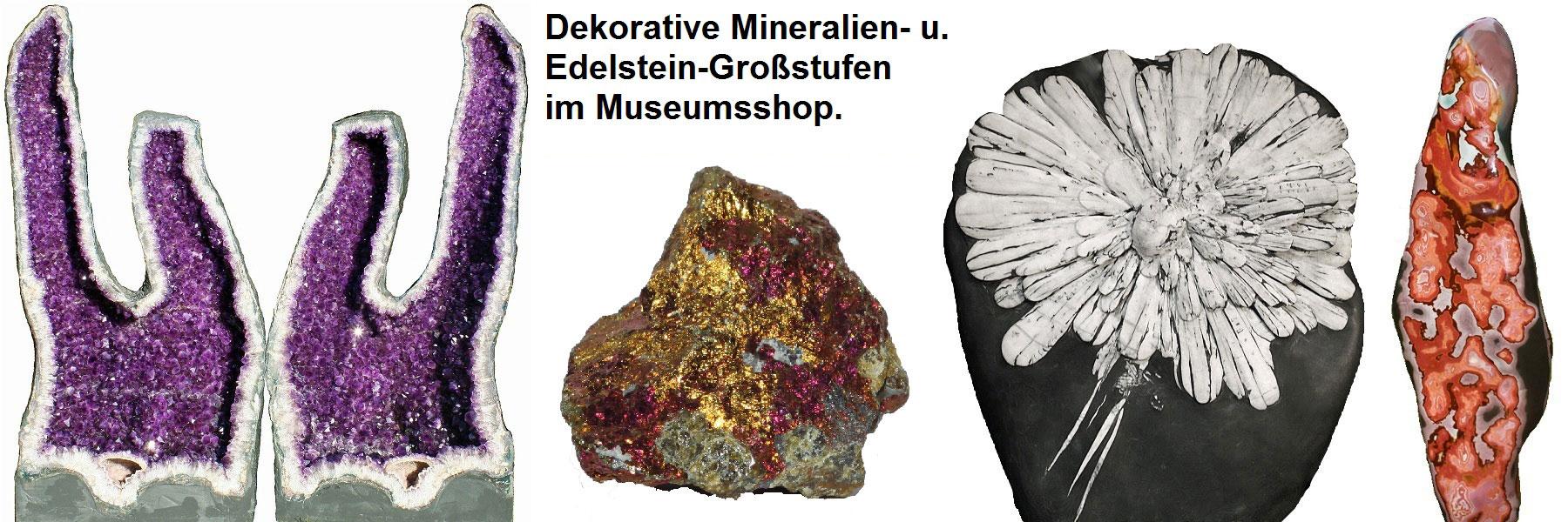 Mineralien Edelsteine - Natur-Schatzkammer Neuheide