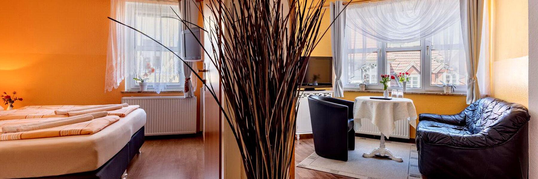 """Zimmer - Hotel """"Nordlicht"""""""