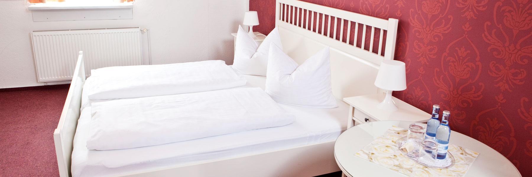 Schlafzimmer - Hotel Adler garni Greifswald
