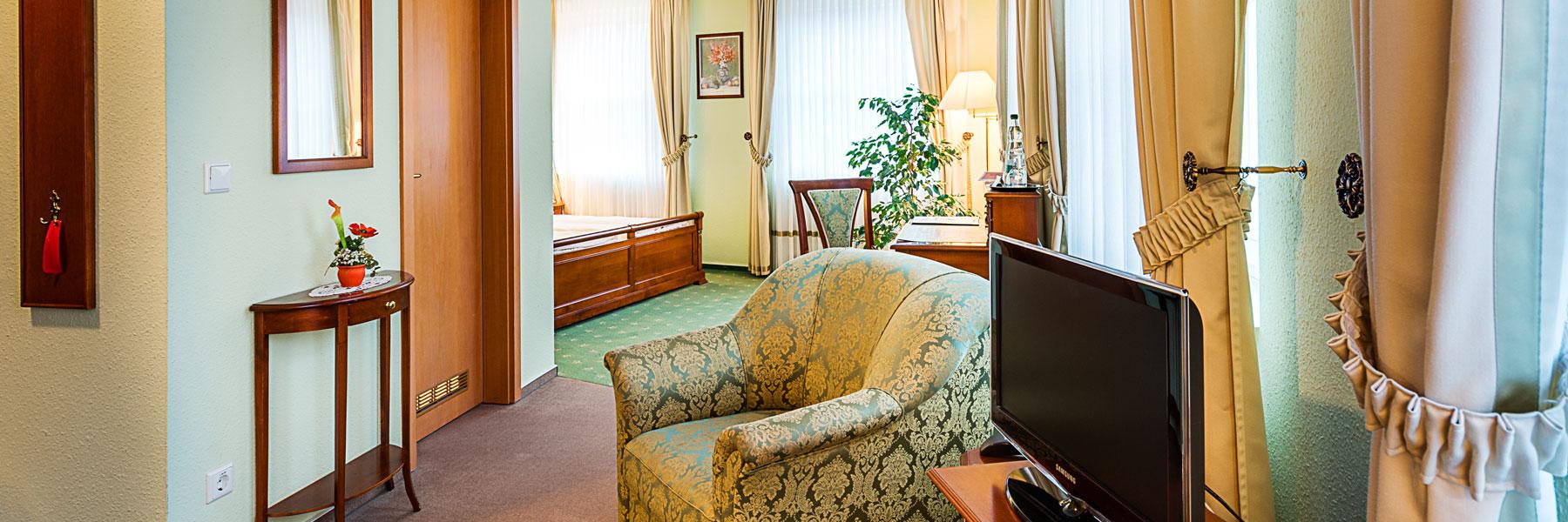 Komfort Doppelzimmer - Hotel Zur Burg