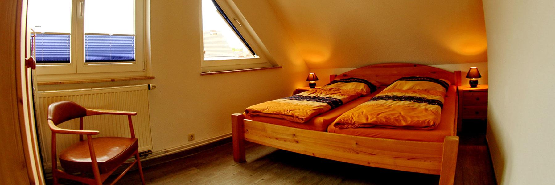 Schlafzimmer - Ferienwohnung Maria