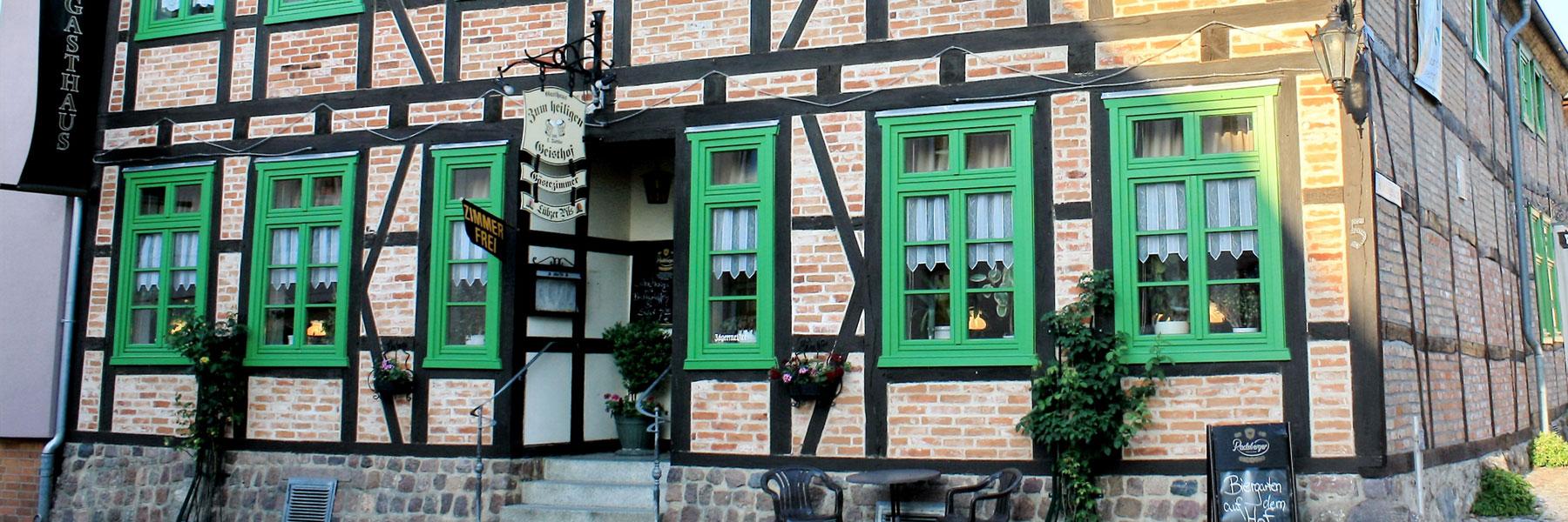 """Außenansicht - Gasthaus """"ZumHeiligenGeisthof"""""""