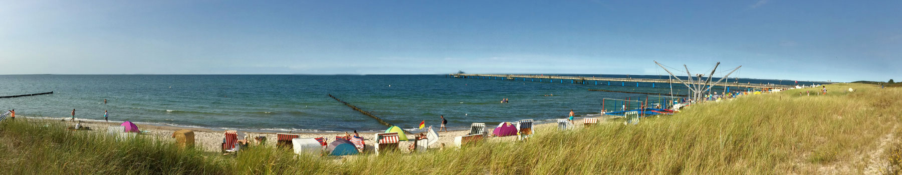 Strand schmal - Hotel Haus am Meer
