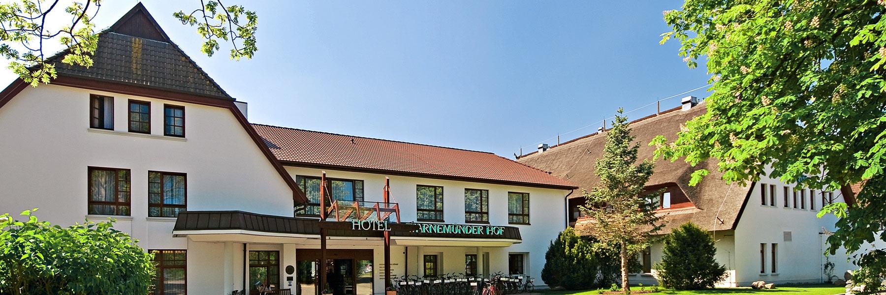 Aussenaufnahme - Hotel Warnemünder Hof