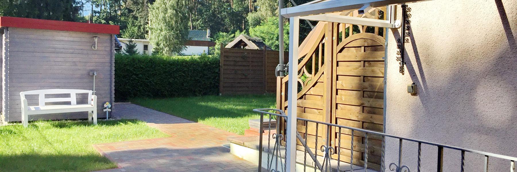 Garten - Ferienhaus Quetzina