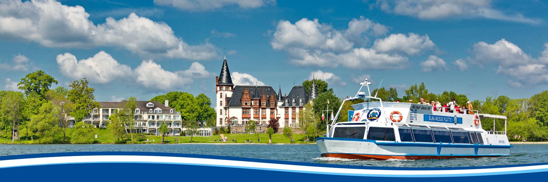 Klink - Blau Weisse Flotte Müritz & Seen in Waren