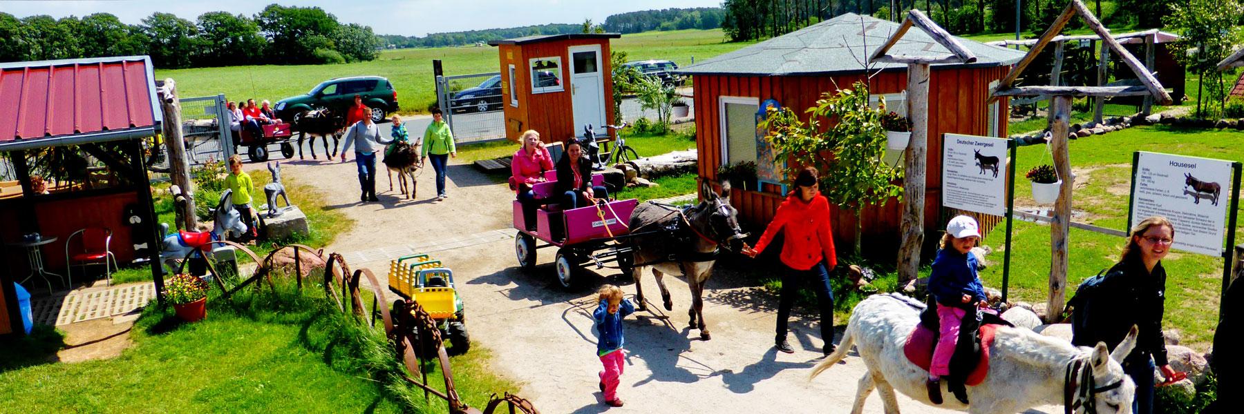 Wanderung - Eselhof I-AAH Klockenhagen