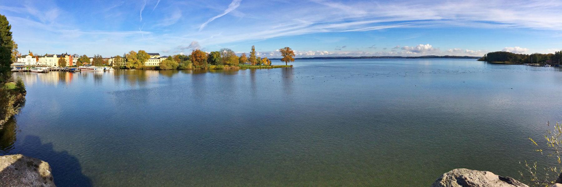 Schweriner See - Eventfloß Schwerin