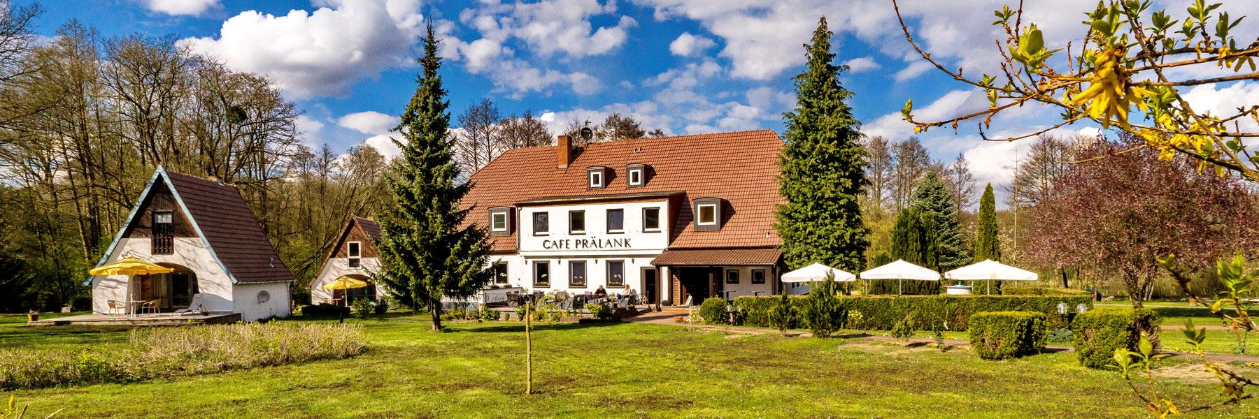Außenansicht - Landhotel & Café Prälank