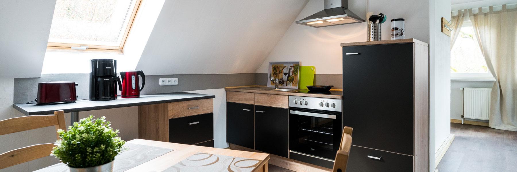 Küche - Landhotel & Café Prälank