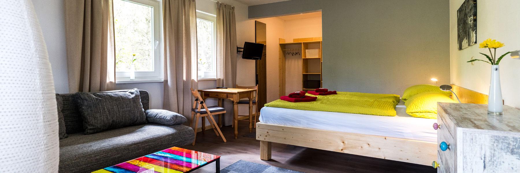 Zimmeransicht - Landhotel & Café Prälank