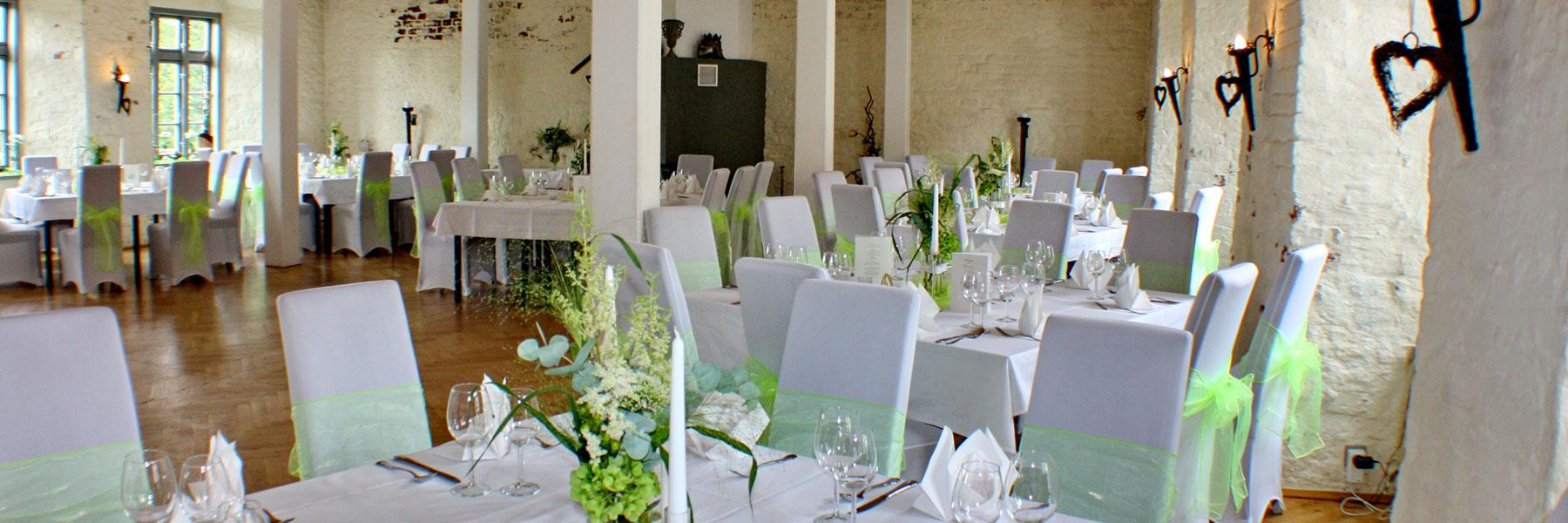 Restaurant - Burg Restaurant und Eventgastronomie