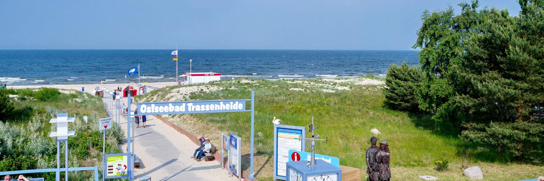 Ostseestrand - Pension Fischerhaus Trassenheide