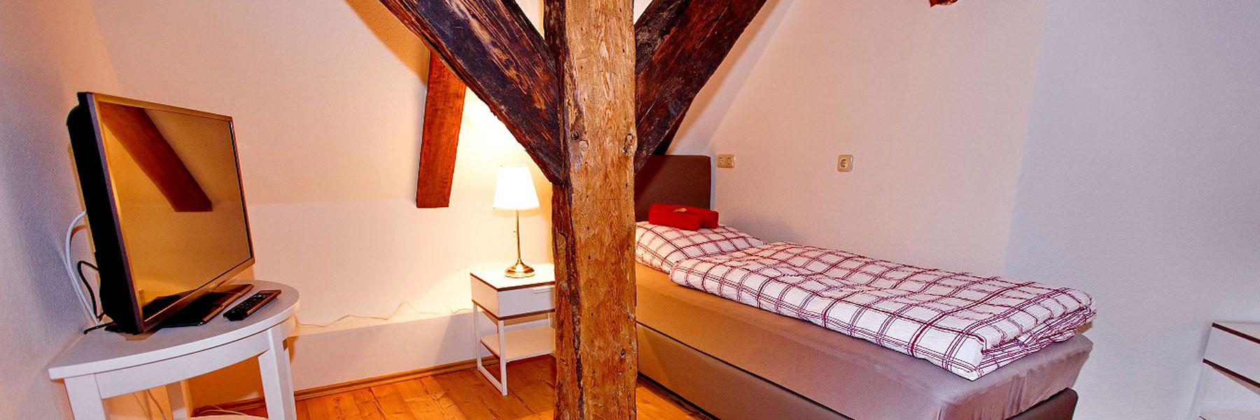 """Einzelzimmer - Pension """"Altes Burghotel"""""""