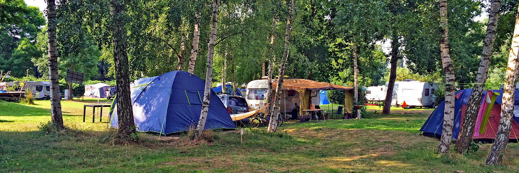 Campingplatz - Naturcamping Lassan