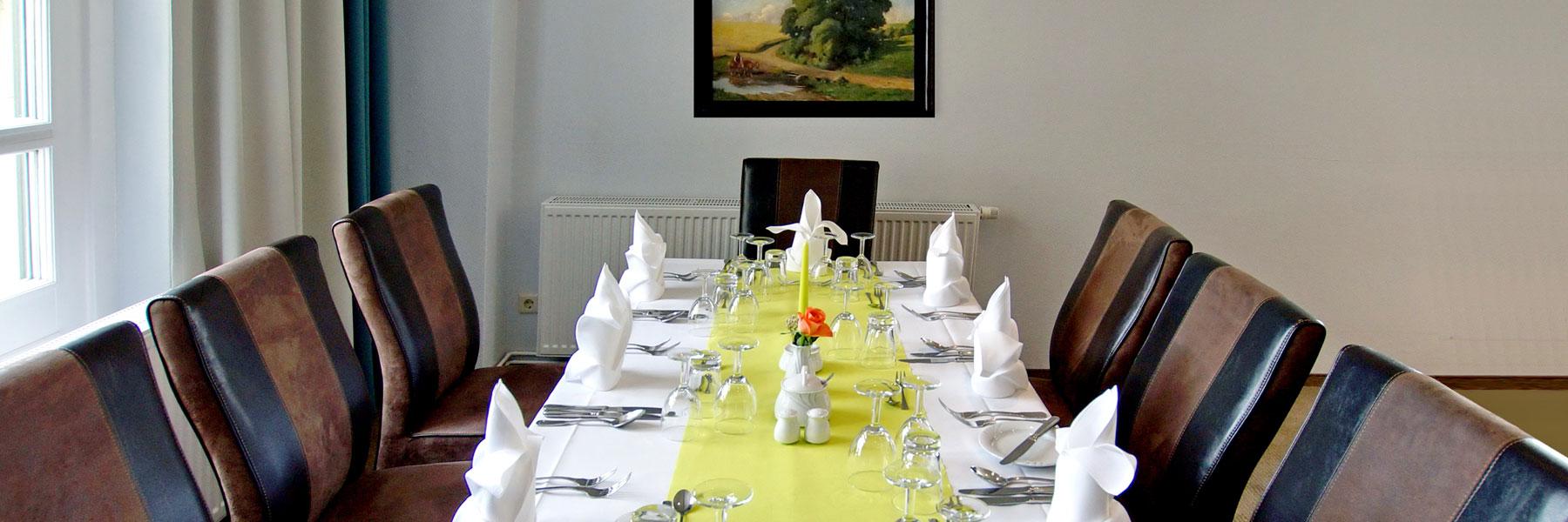 gedeckte Tafel - Hotel & Restaurant DREIWASSER