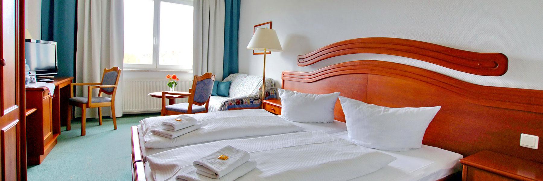 Zimmeransicht - Hotel & Restaurant DREIWASSER
