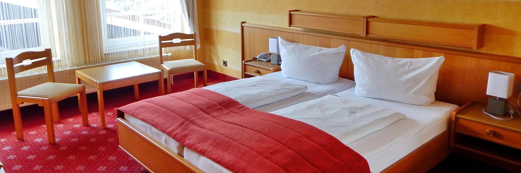 Doppelzimmer - Hotel Eleganz