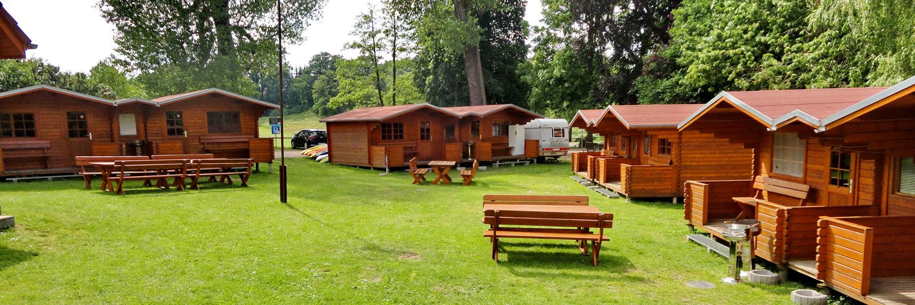 Blockhäuser - Kanu-Feriencamp Weitendorf