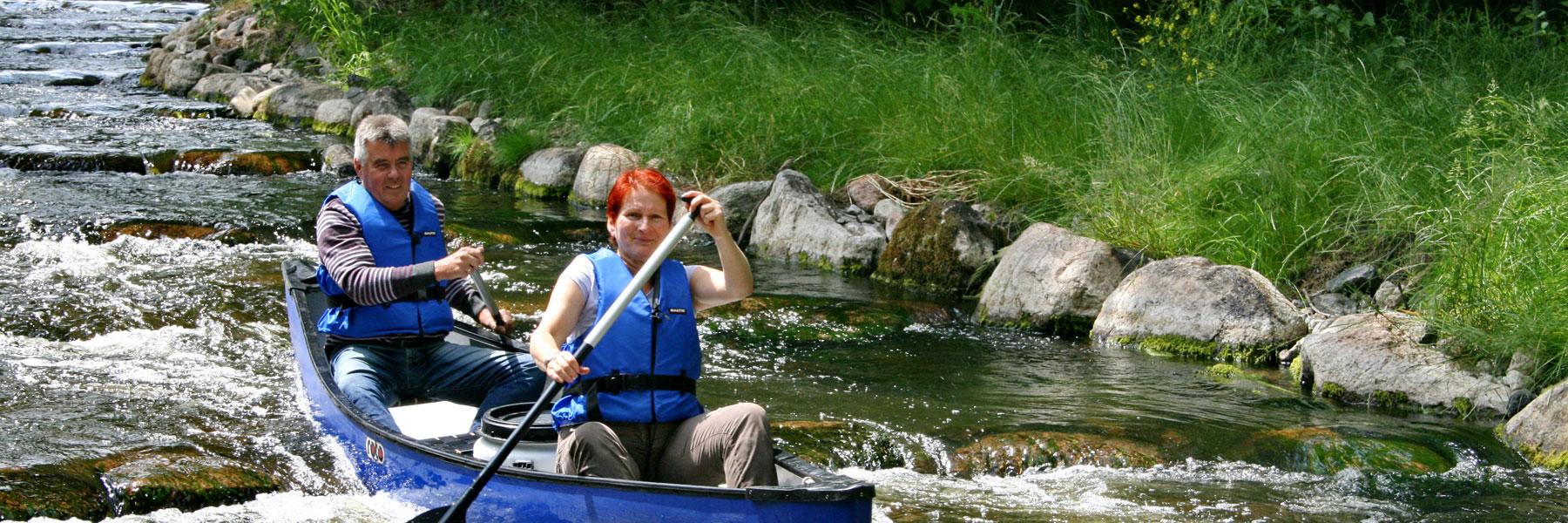 Warnow Fischtreppe - Kanu-Feriencamp Weitendorf