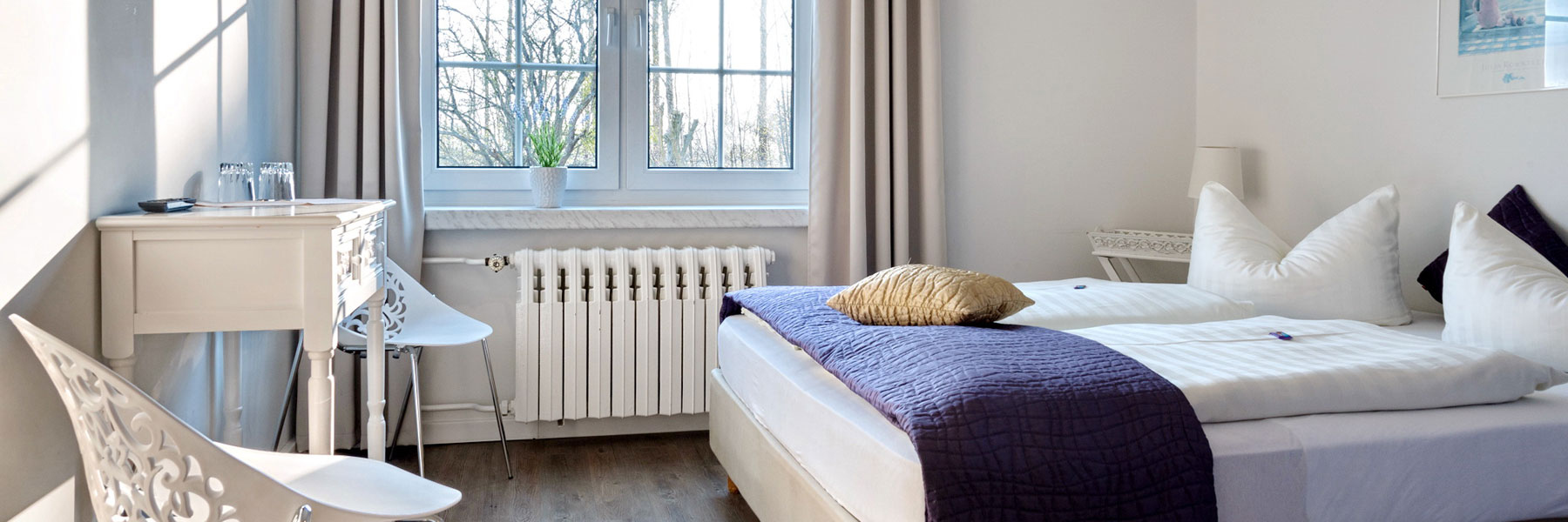 Doppelzimmer - Hotel Haus ÜberLand
