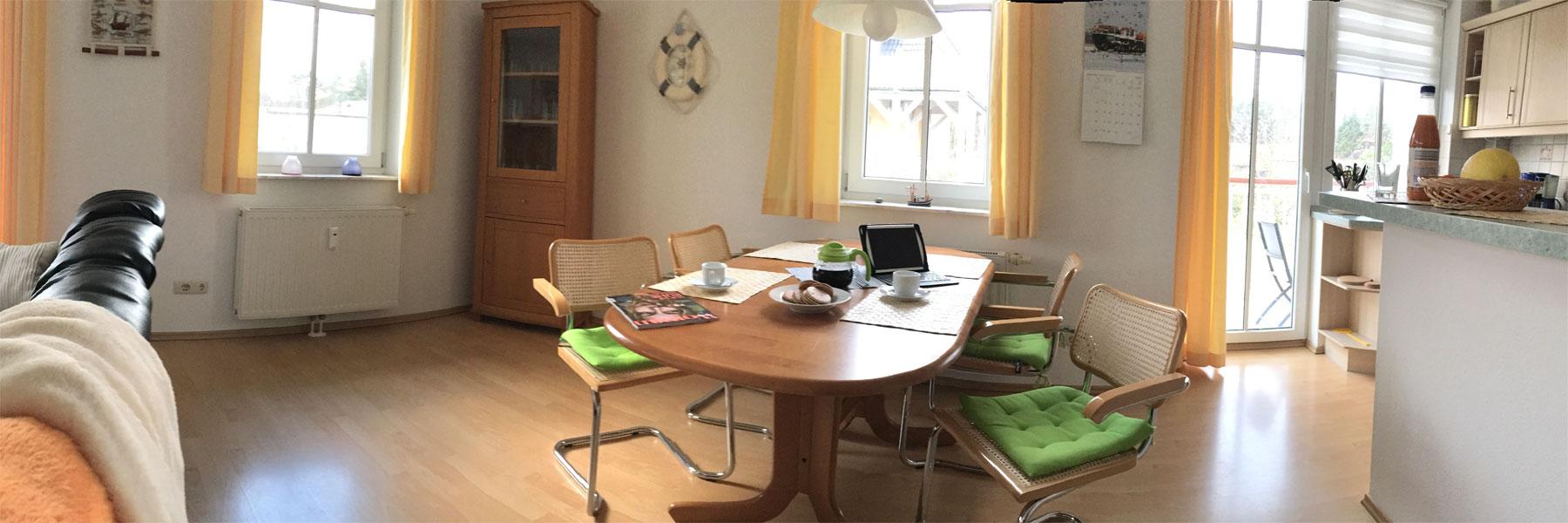 Essbereich - Ferienwohnung Usedom