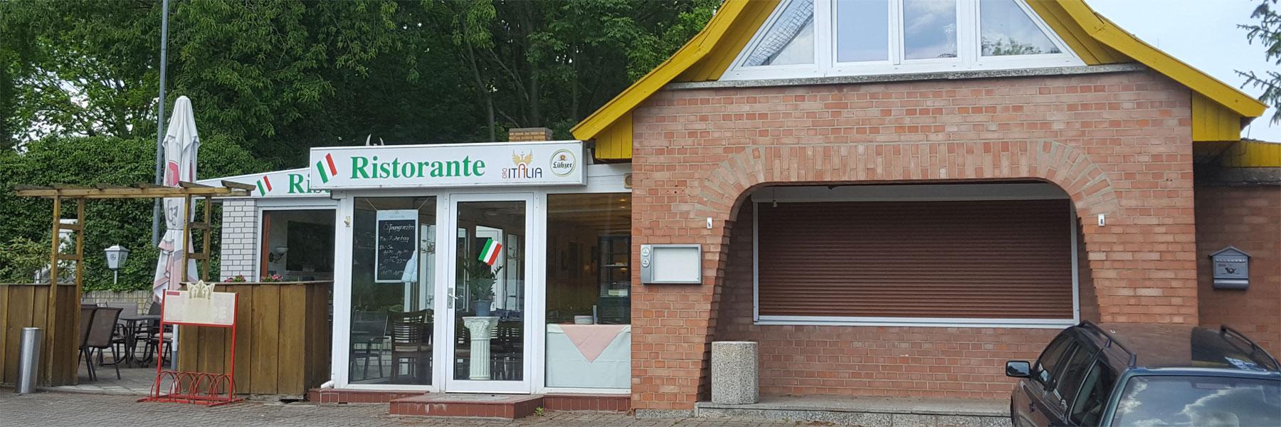 Eingang - Ristorante Ciao Italia