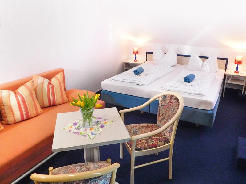 Doppelzimmer im Hotel Mecklenburger Hof in Mirow