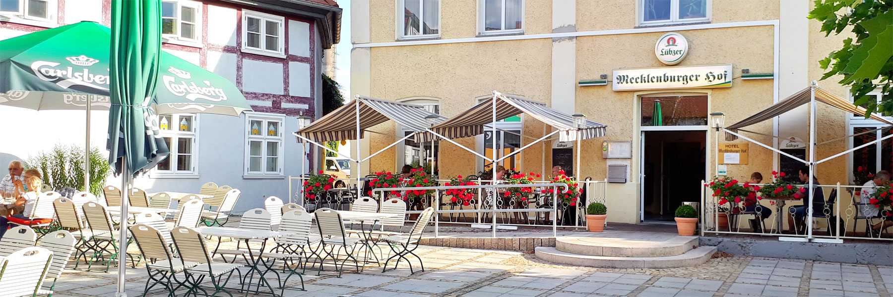 Terrasse - Mecklenburger Hof