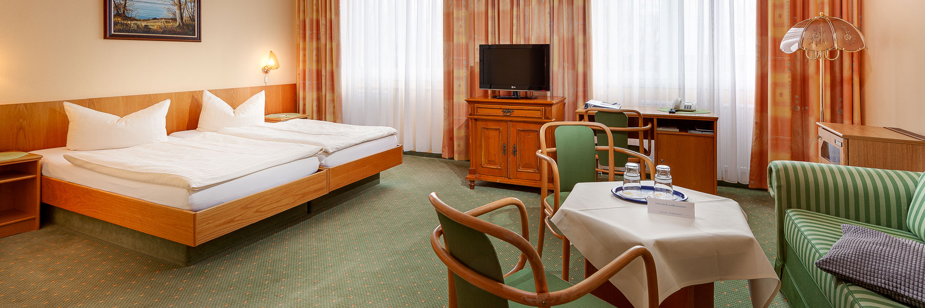 Doppelzimmer - Hotel Horizont