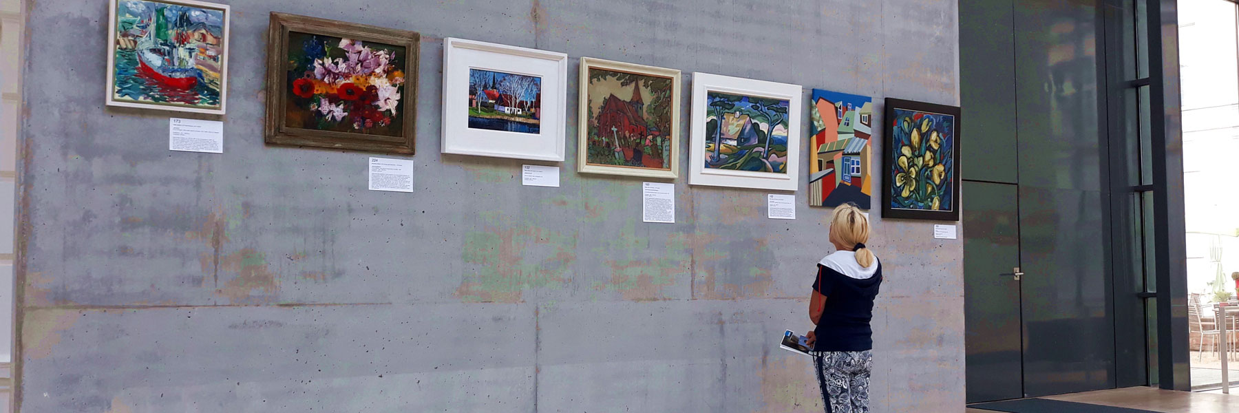 Ausstellung - Koserower Kunstsalon