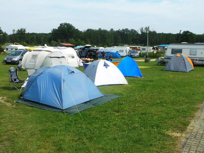 Campingplatz bei Sabines Bauernhof